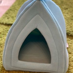 Small Powder Blue Pet Bed